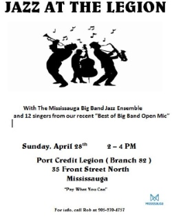 Jazz at the Legion - April 28