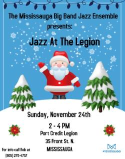 Jazz at the Legion - November 24
