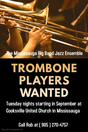 Seeking Trombonists